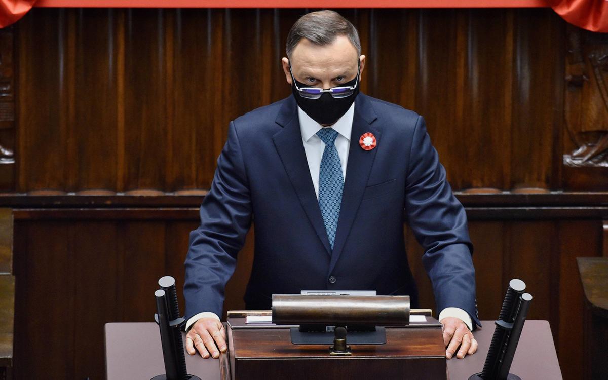 Дуда анонсировал обсуждение членства Украины в НАТО на саммите в июне