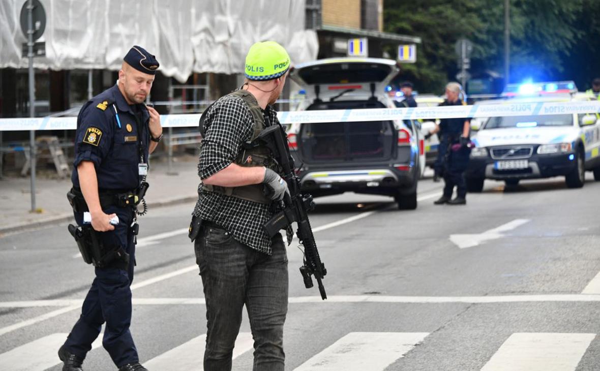 Место происшествия в городе Мальме