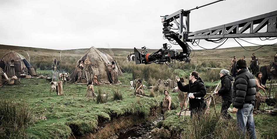 Съемки сериала в Исландии в 2011 году