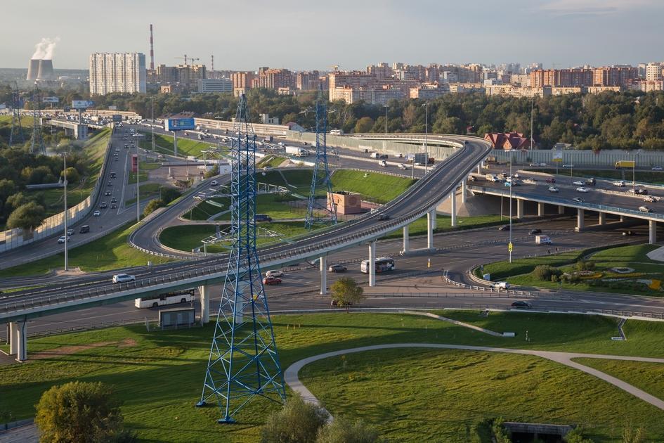 Пересечение МКАД с Ярославским шоссе