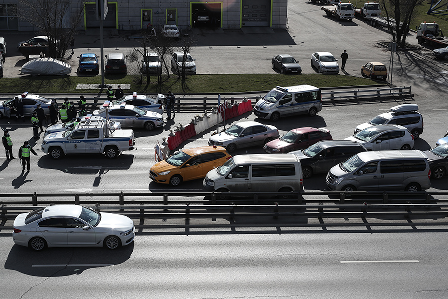 Здесь и далее — съезд на МКАД с Ленинградского шоссе