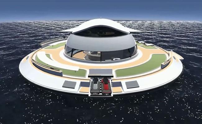 Плавучий дом «НЛО2.0»