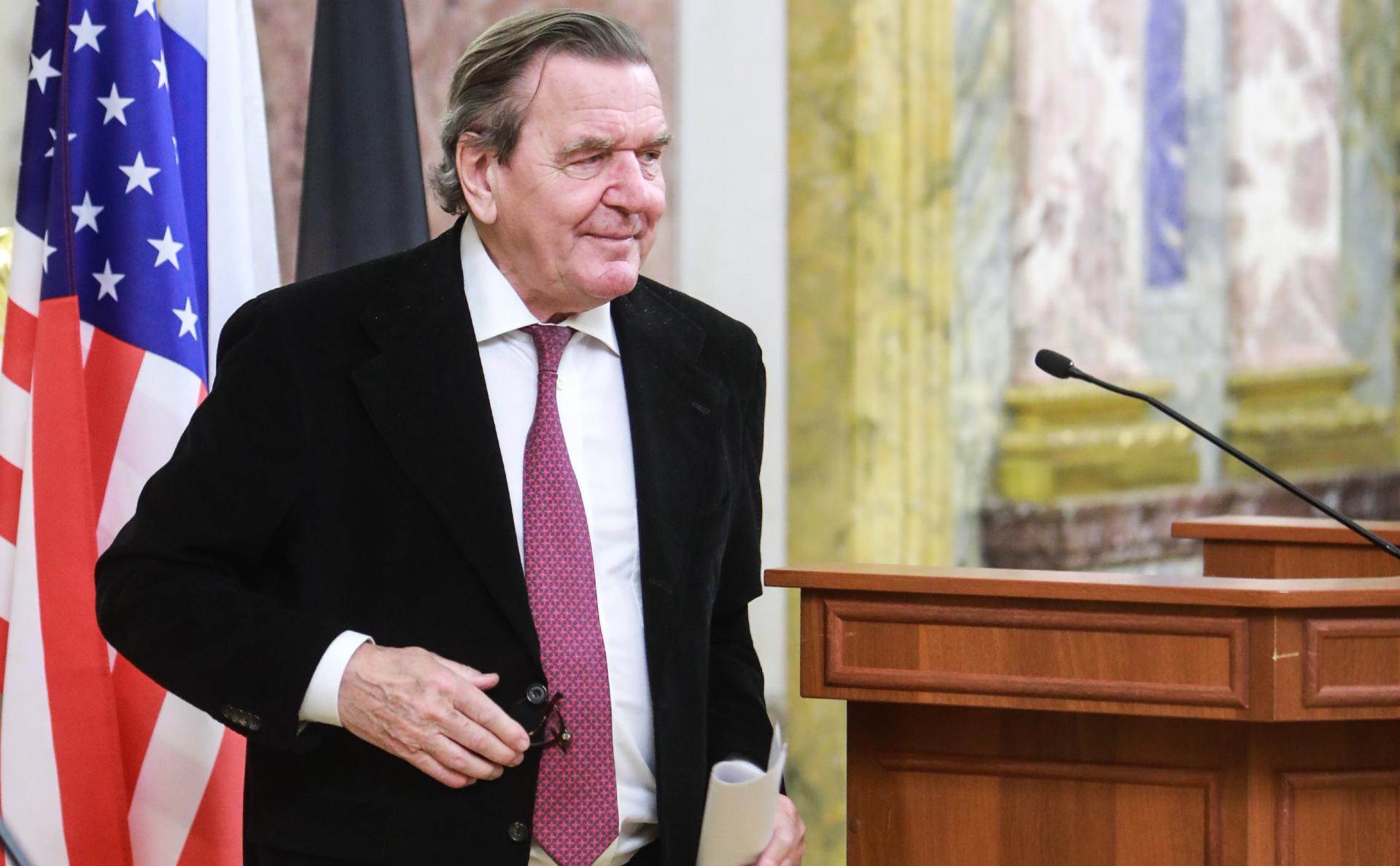 Экс-канцлер Германии Герхард Шрёдер