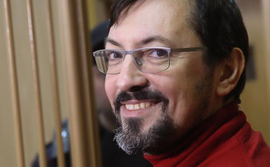 Лидер запрещенного движения «Русские» Александр Белов (Поткин), 2014 г.