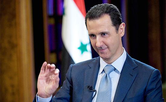 Президент Сирии БашарАсад