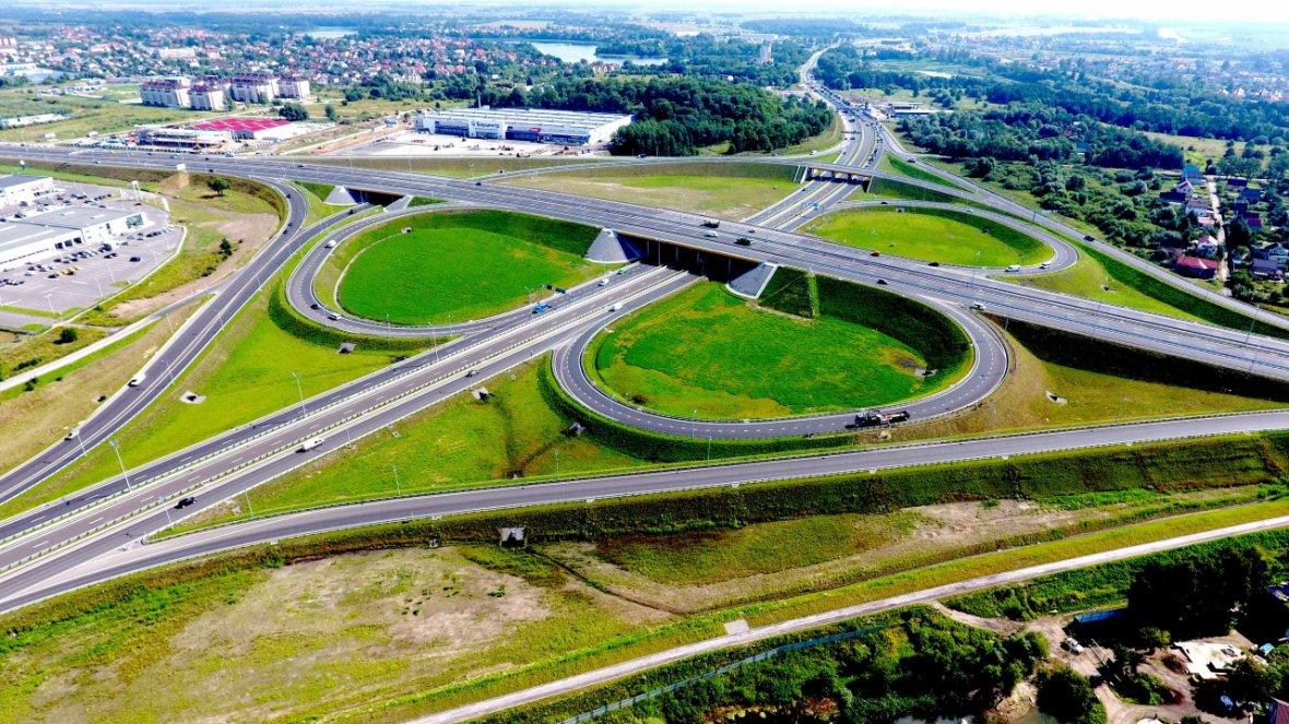 новые развязки дорог в калининграде фото днями ранее