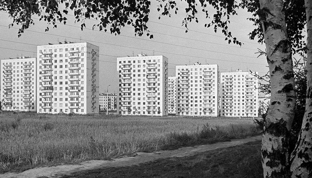 Жилые корпуса в Зюзине, 1967 год