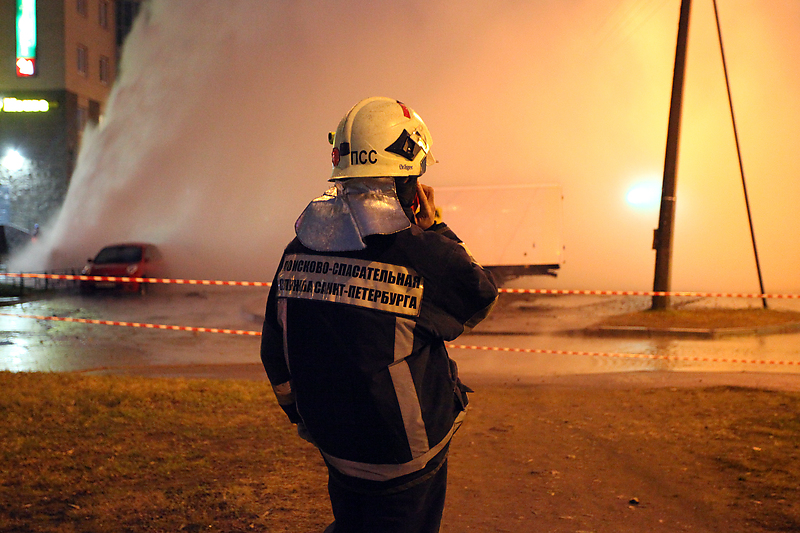 Петербуржцев предупредили о возможных авариях на теплотрассах