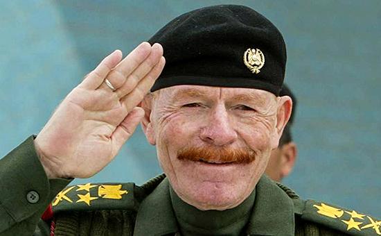 Бывший вице-президент Ирака Иззат Ибрагим ад-Дури.2003 год