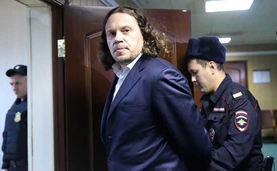 Бизнесмен Сергей Полонский вПресненском суде. 8 декабря 2016 года