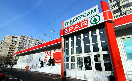 Универсам «Спар» в Москве