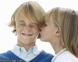 Школьные поцелуи