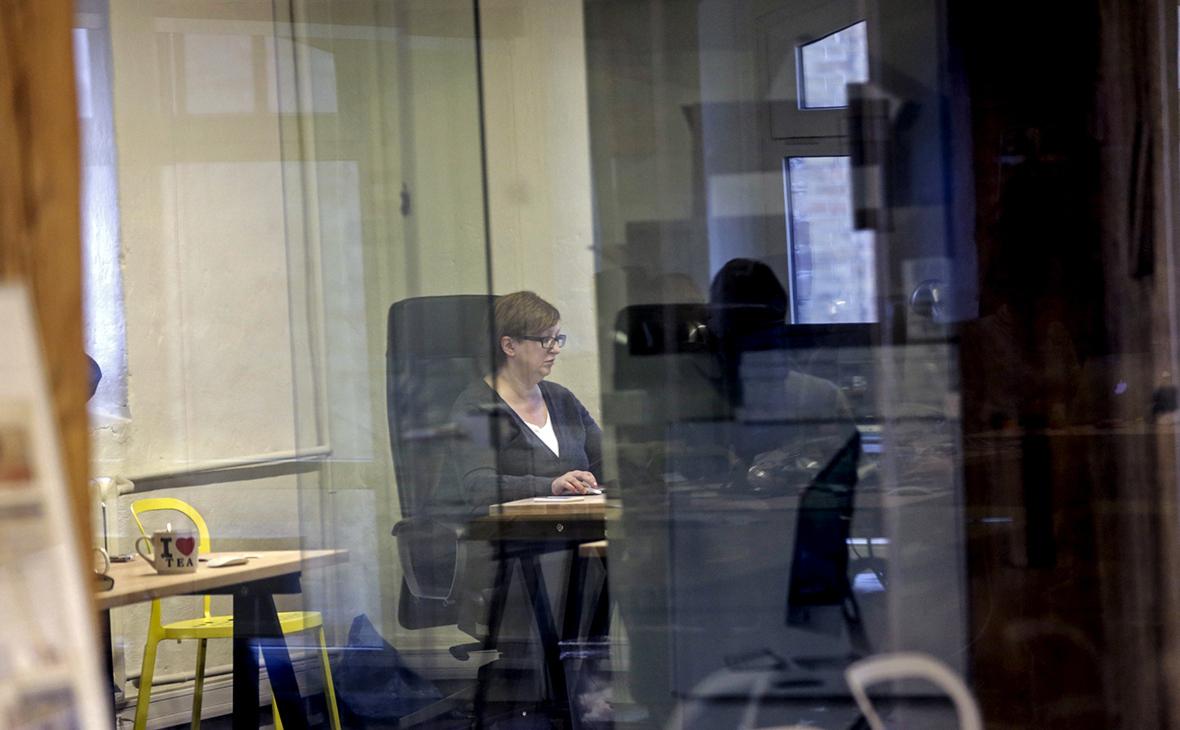 Галина Тимченко в офисе «Медузы»в Риге