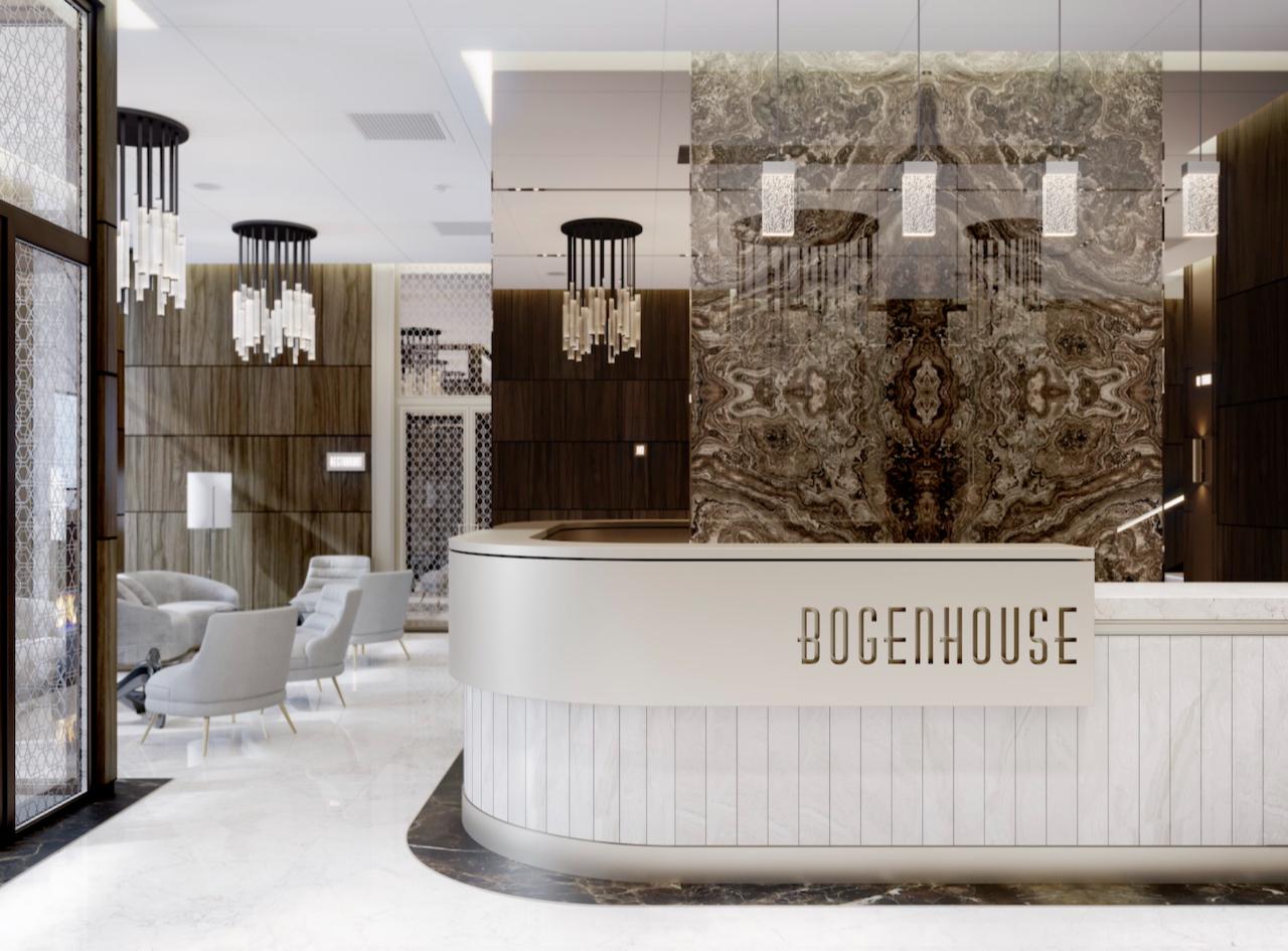 Визуализация клубного дома Bogenhouse
