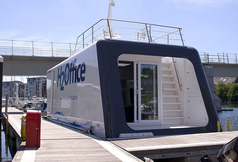 Фото:floating-studio-flats.co.uk