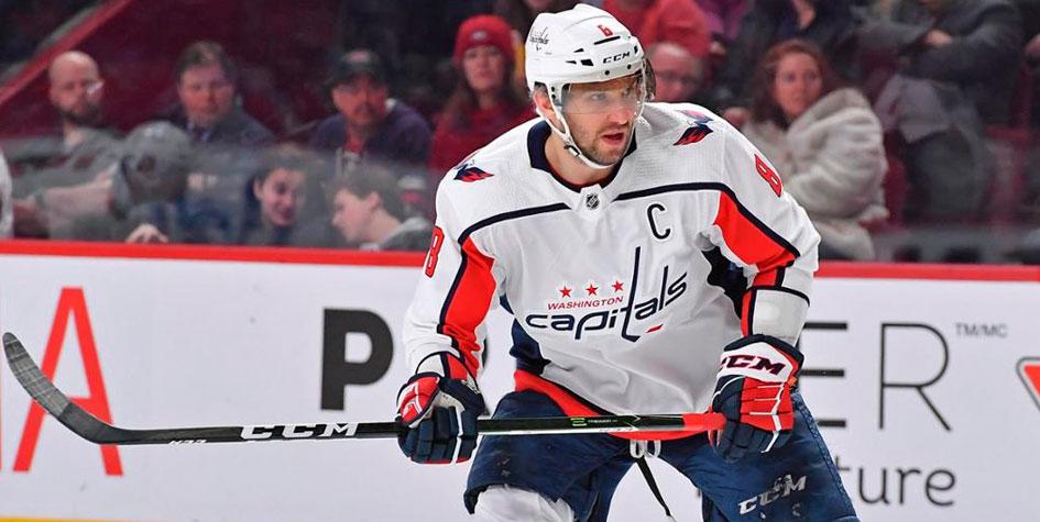 Овечкин установил рекорд для россиян по количеству матчей в НХЛ