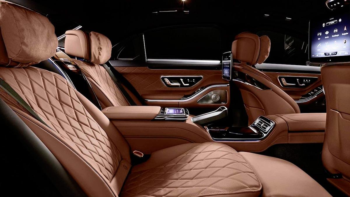 Mercedes выпустил бронированную версию нового S-Class