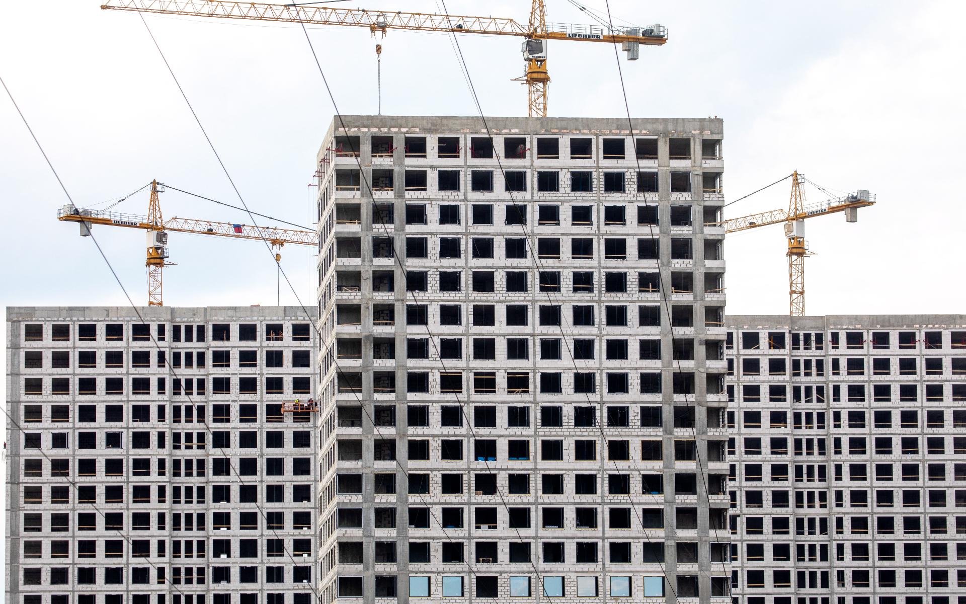 Объем ввода жилья по схеме эскроу в России превысил 10 млн кв. м за два года