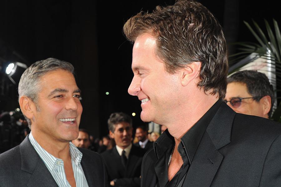 Джордж Клуни (слева) и Ранд Джербер