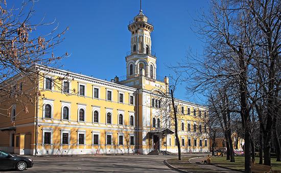 Здание музея МВД в Москве