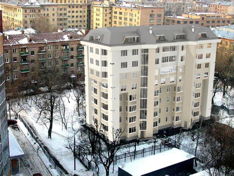 Проект реконструкции дома наулице Мишина, 32