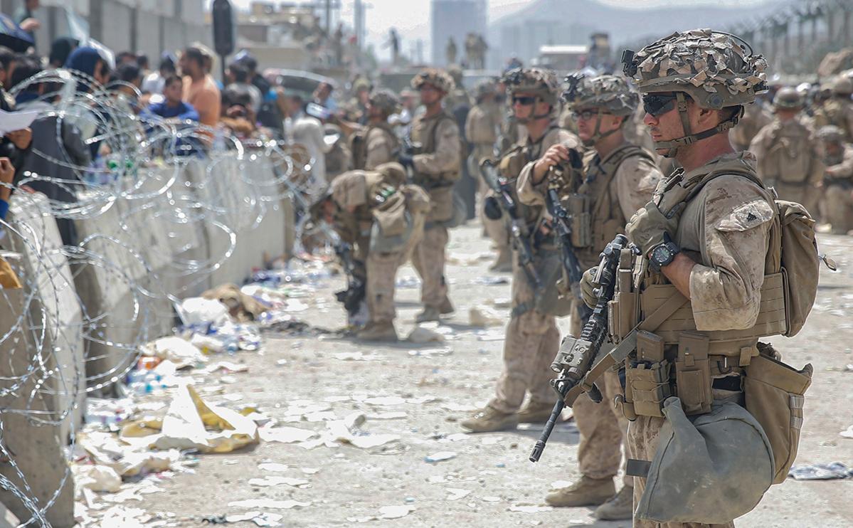 Фото:Lance Cpl. Nicholas Guevara / U.S. Marine Corps / AP