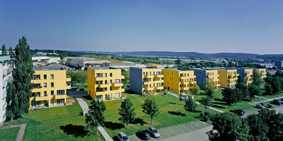 Картинки по запросу Как реконструируют панельные хрущевки в Германии.