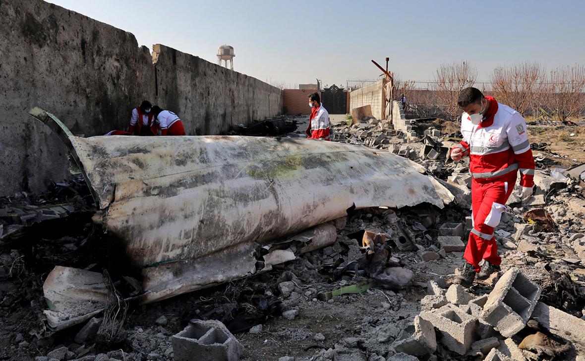 Украина обвинила Иран в сокрытии причин крушения Boeing под Тегераном