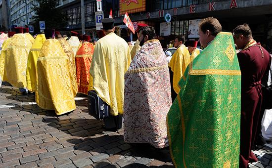 Крестный ход в Киеве (архивное фото)