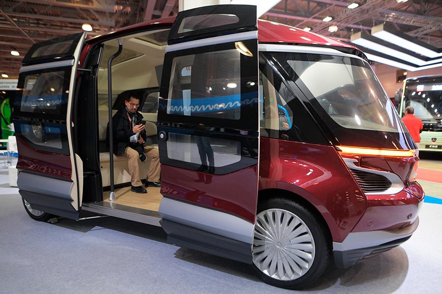 Беспилотный автобус «КамАЗ-1221»