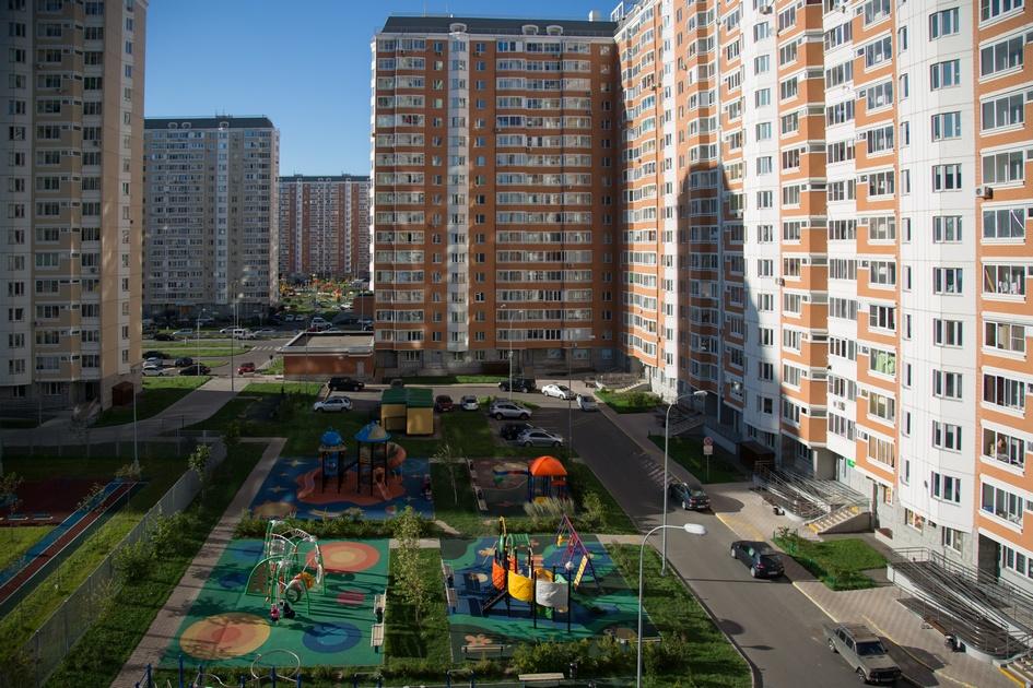 Жилые дома серии П-44Т в районе Некрасовка
