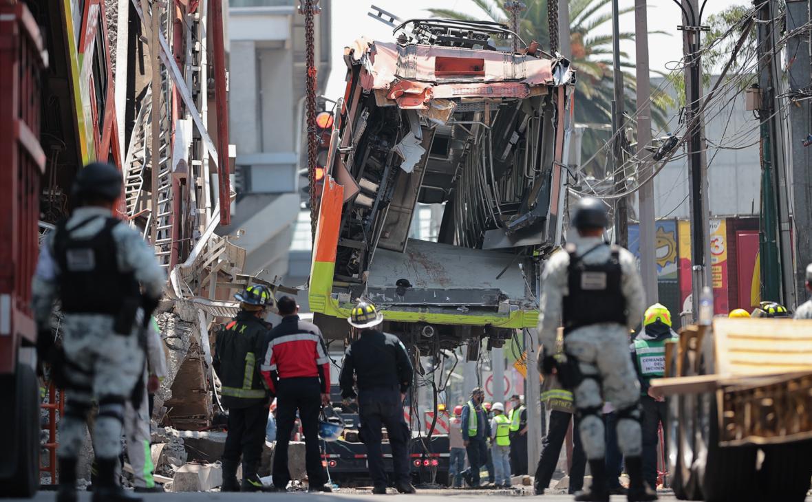 Путин выразил соболезнования после обрушения метромоста в Мексике