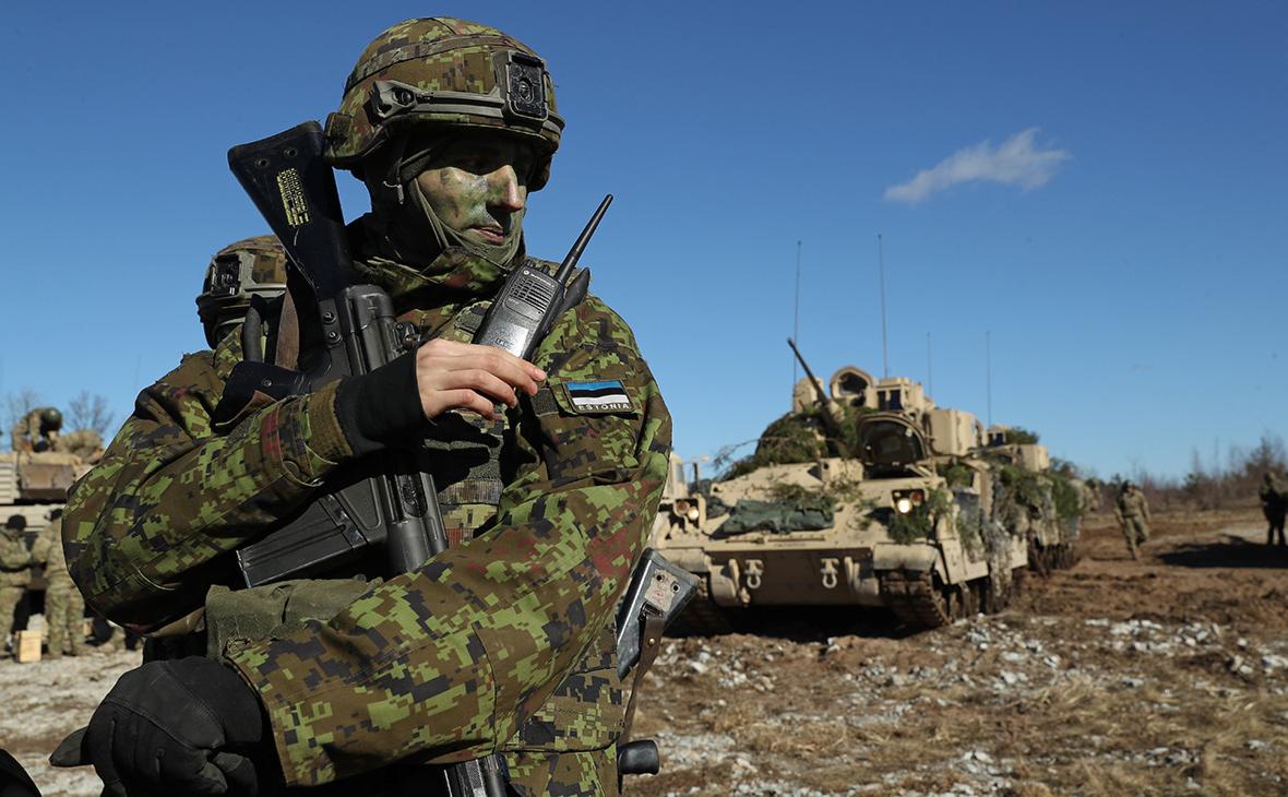 В Эстонии начались учения Spring Storm с участием военных НАТО