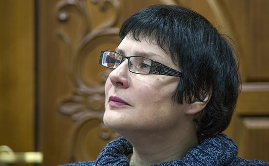 Директор Государственного центрального музея кино Лариса Солоницына