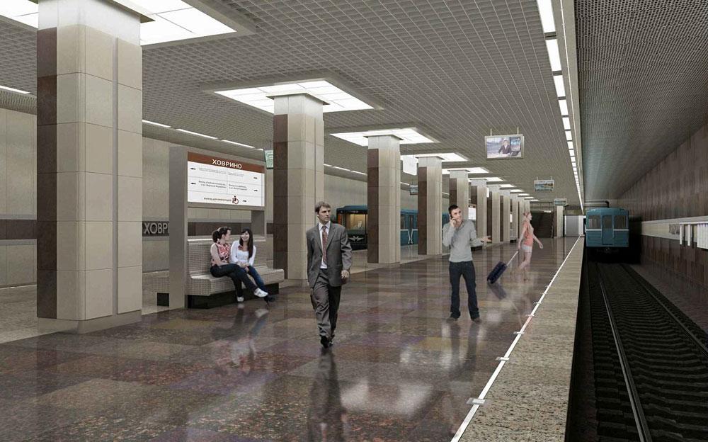 Станция «Ховрино» Замоскворецкой линии метро