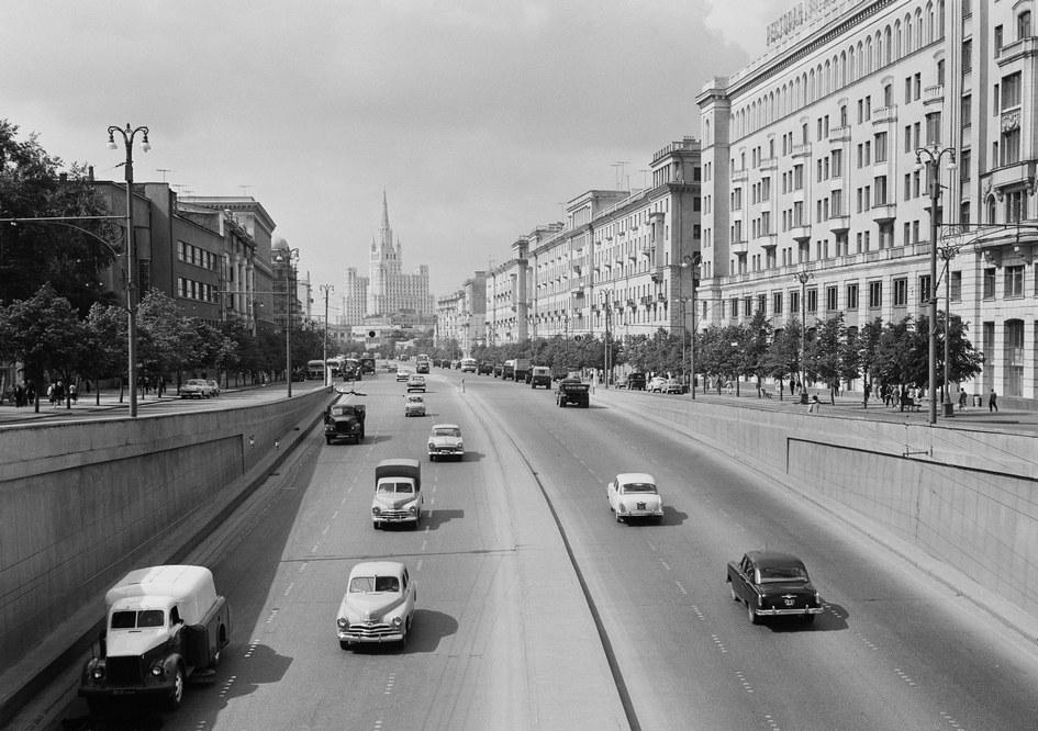 Большая Садовая улица. 1962 год