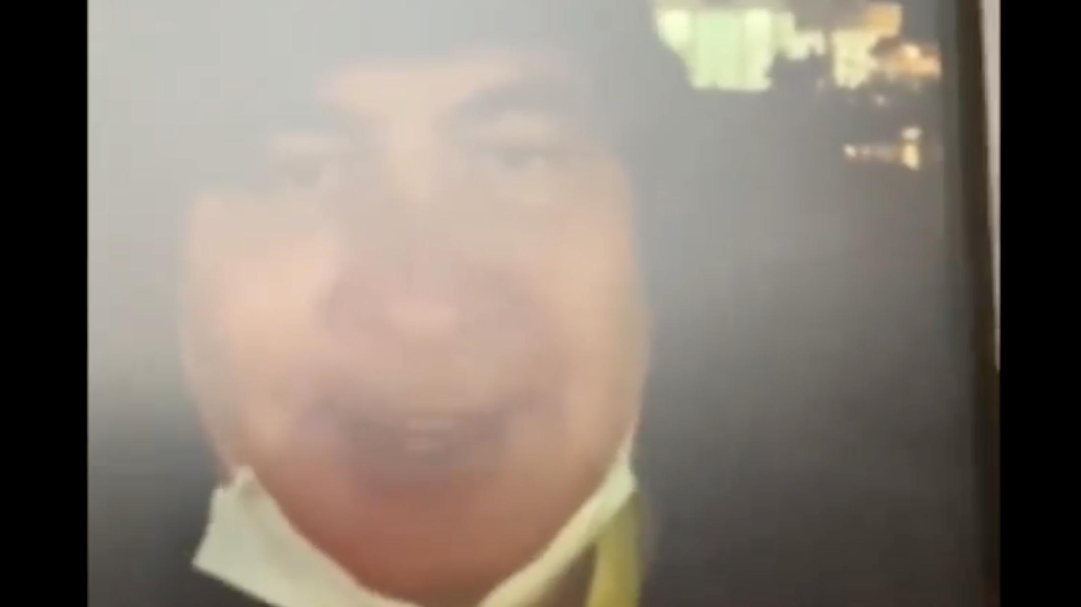 Заявивший о прибытии в Грузию Саакашвили опубликовал видео