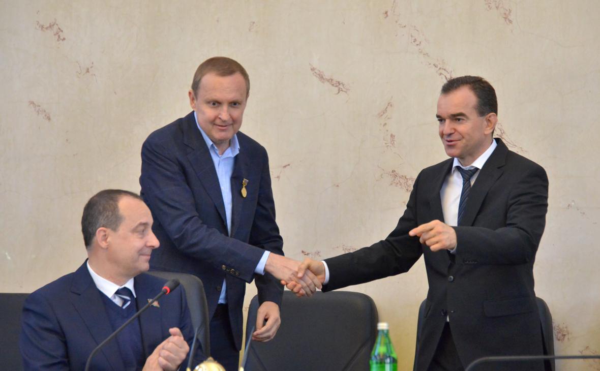 Юрий Бурлачко, Сергей Прокопенко и Вениамин Кондратьев