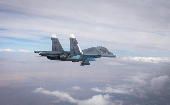 США сообщили о новом визуальном контакте с российскими летчиками в Сирии