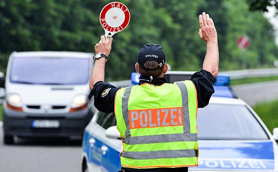 Сотрудники полиции в Германии, июнь 2016 года