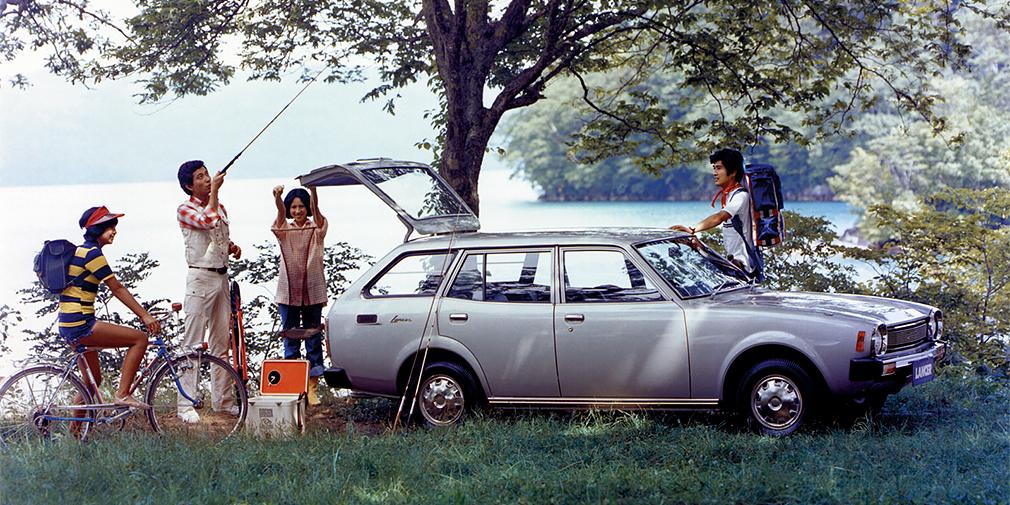 Mitsubishi Lancer Van 1976