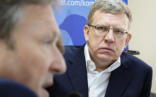 Борис Титов (слева) иАлексей Кудрин