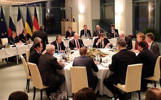 """Переговоры в """"нормандском формате"""" в Берлине, 19 октября 2016 года"""