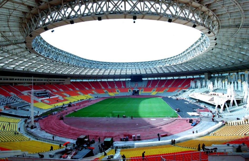 В 2008 году на Большой спортивной арене «Лужников» состоялся финал самого престижного клубного турнира Европы — Лиги чемпионов  На фото: Большая спортивная арена «Лужников»