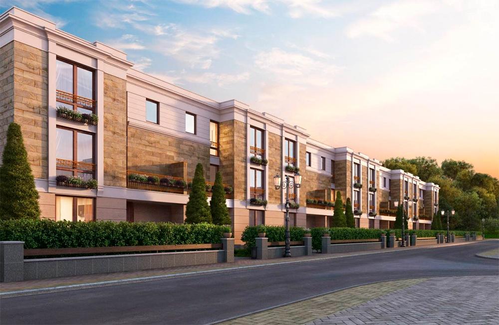 «Берег Столицы»   Класс: премиум Статус: апартаменты Разрешение на ввод в эксплуатацию: 2-й кв. 2018 года Площадь (кв. м) min-max: 353–353 Стоимость 1 кв. м (тыс. руб.) min-max: 600–650 Стоимость квартиры/апартаментов (млн руб.) min-max: 211–229