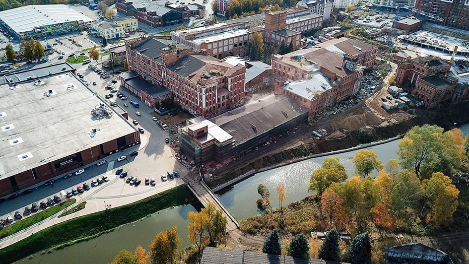 Шелковая фабрика в Наро-Фоминске