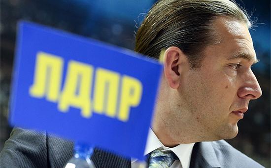 Депутат Госдумы от ЛДПР Максим Шингаркин