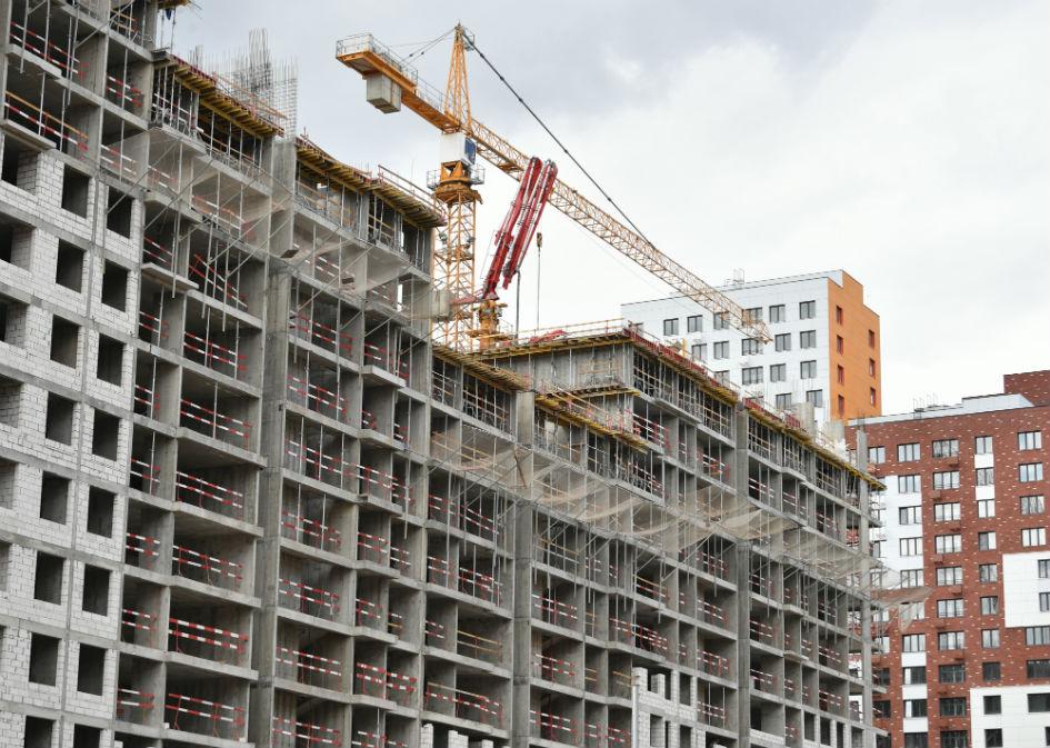Строительство ЖК в Новой Москве