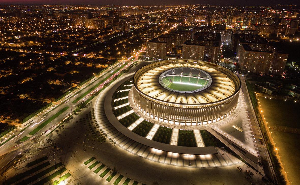 Новый стадион фк краснодар фото