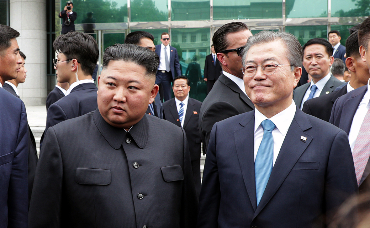 Ким Чен Ын иМун Чжэ Ин